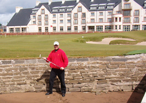 Bob at St. Andrews Golf Course