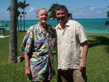 Ted Rogers and Bob Brehl in Nassau